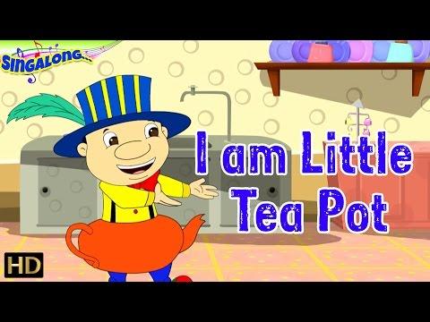 I Am A Little Teapot - (HD) | Pop Style Music - Nursery Rhymes | Popular Kids Songs