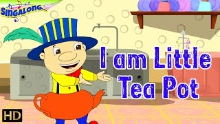I Am A Little Teapot - (HD) | Pop Style Music - Nursery Rhymes | Popular Kids Songs