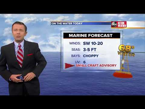 Florida's Most Accurate Forecast with Greg Dee on Tuesday, March 20, 2018