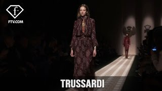 Milan Fashion Week Fall/WItner 2017-18 - Trussardi | FTV.com