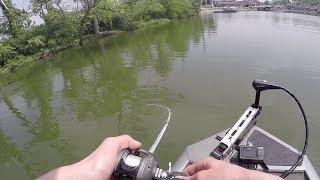 USA Bassin Tournament on Geist Reservoir | Explosive Pop-R Hits