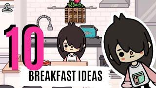 10 Breakfast Ideas  Cooking with NARIIII  Toca Life
