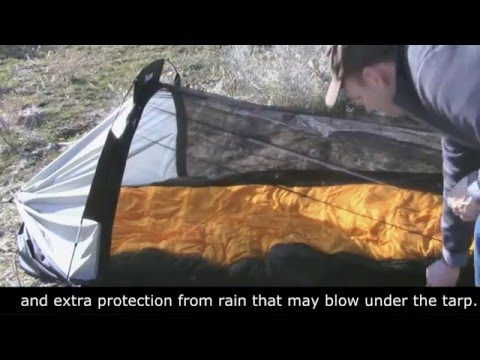 MARK2 set-up and features hybrid hammock/tent by Clark & MARK2 set-up and features: hybrid hammock/tent by Clark - YouTube