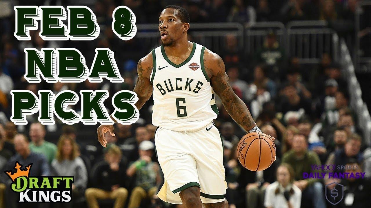 02fcc1b49f7 2 8 19 NBA DraftKings   Yahoo Picks - YouTube