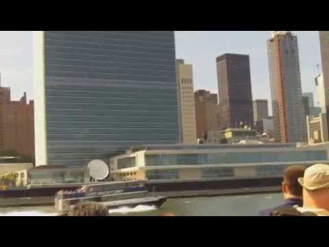 United Nations Building In New York - Seen From Circle Line Cruise Ship On East River