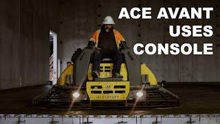 Console Works For Ace Avant Concrete Construction