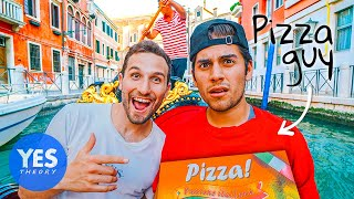 I Took My Pizza Delivery Guy Around the World