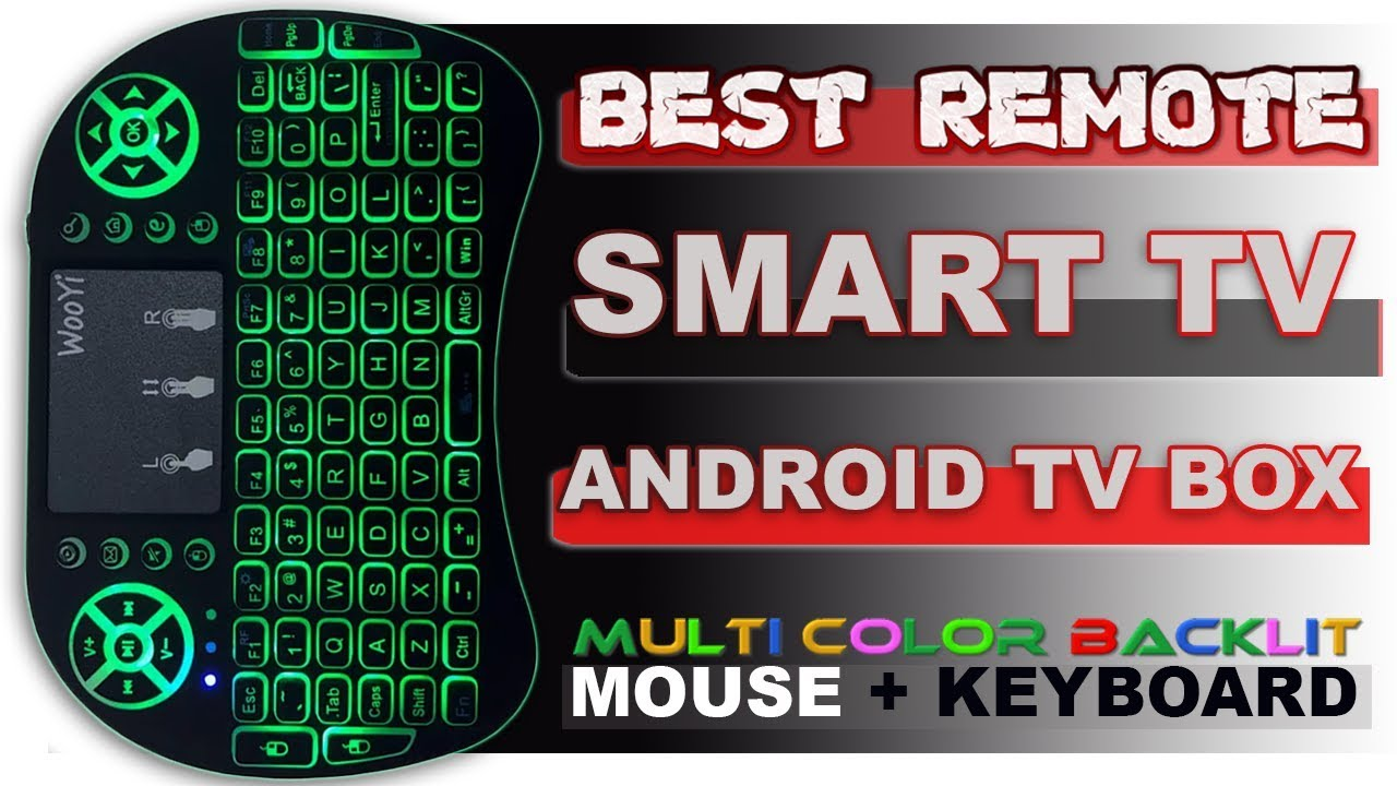 Android TV and Smart TV Keyboard Mouse Remote Unboxing & Review | HINDI