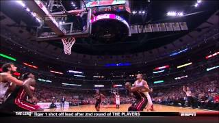 Chris Bosh Flop Game 3 2013 in HD