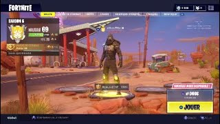 "JE DEBLOQUE THE SKIN ""ROAD TRIP"" - season 5 Fortnite battle Royal"