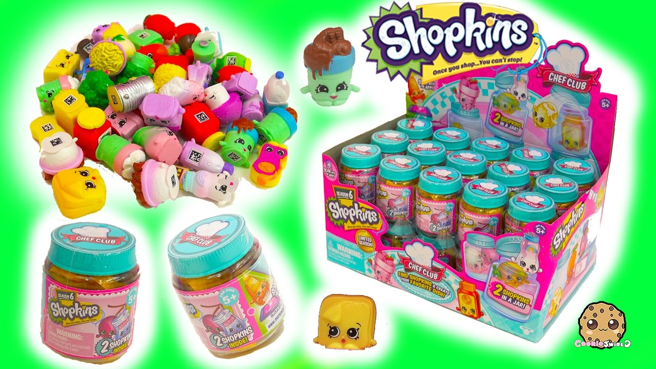 Full Box Shopkins Season 6 Chef Club Surprise Blind Bag