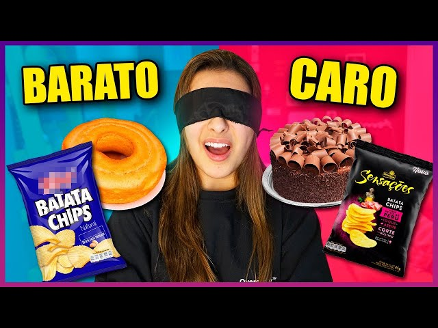 COMIDA CARA VS COMIDA BARATA!