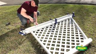 How To Build A Simple Corner Trellis
