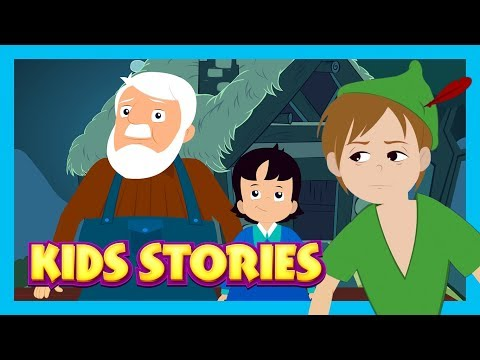 Kids STORIES - LEARNING STORIES FOR KIDS || PETER PAN & MORE