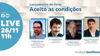 LIVE | Lançamento do livro: Aceito as condições