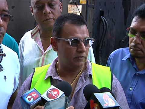 Road Paving Exercise Begins In Port Of Spain