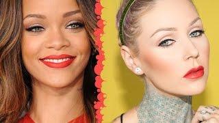 Rihanna Makeup Tutorial | KristenLeanneStyle