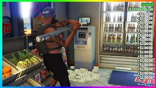 GTA 5 ATM Money Glitch! (PS4/XBOX/PC)