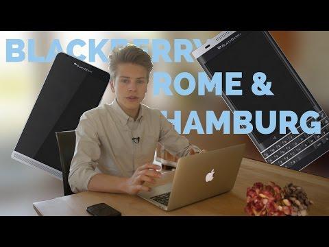 NEW BLACKBERRY HAMBURG & ROME?!
