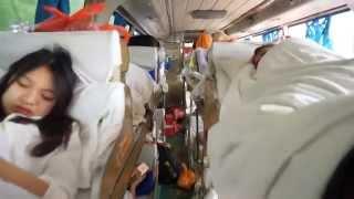 Поездка Из Китая (Гуанчжоу) Во Вьетнам (Нанинг), Часть Первая Обзор Спящего Автобуса