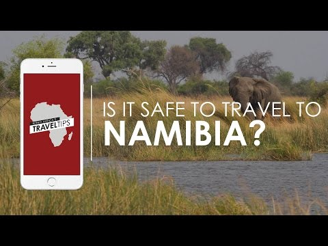 How safe is Namibia? Rhino Africa's Travel Tips