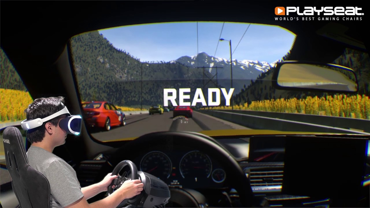 Playseatstore Playstation Vr With Driveclub Vr Hands On Youtube