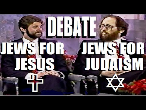 JEWS for JESUS vs JEWS for JUDAISM DEBATE (Ex Jew for Jesus Julius Ciss +a messianic Jews for Jesus)