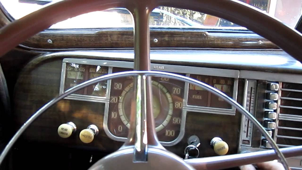 1940 Plymouth Deluxe 4 Door Sedan Youtube