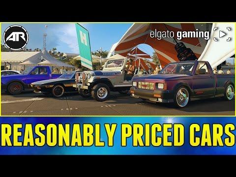 Reasonably Priced Cars Forza Horizon