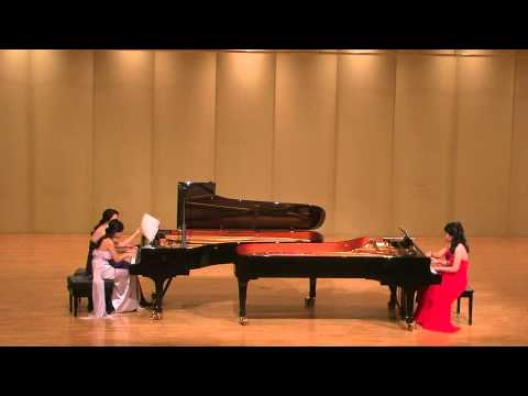 E. Rocherolle Jambalaya(A Portrait of old new orleans) for two pianos eight hands