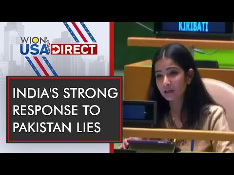 India exercise Right to Reply at UN General Assembly | WION USA Direct | WION News
