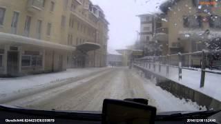 Grindelwald, Abfahrt mit dem Auto