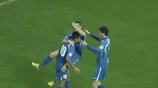 Uzbekistan vs Bahrein 1:0 Rachidov Goal  World cup 2018 Qualifying 29.03.2016 HD