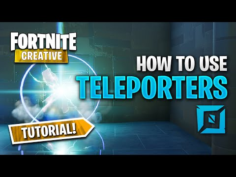 How To Use Teleporter Device In Fortnite Creative
