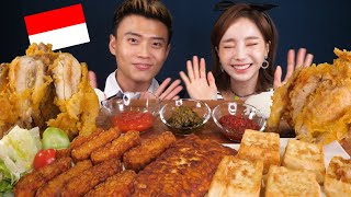 [Mukbang ASMR] delicious Indonesian food✨with Korea Reomit! Eatingshow Ssoyoung