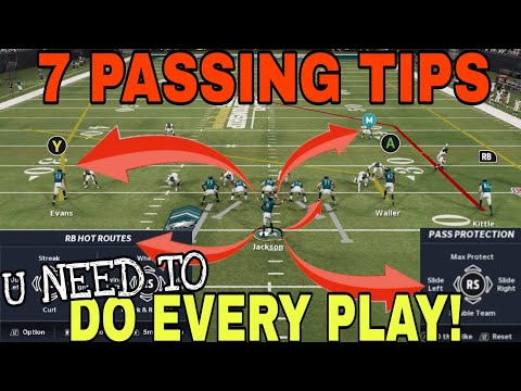 HOW TO MASTER PASSING! 7 Tips & Tricks U NEED TO DO EVERY PLAY to Beat Any Defense in Madden NFL 21!