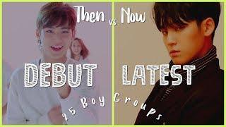 Video Debut Vs Latest Song   25 Boy Groups #2 download MP3, 3GP, MP4, WEBM, AVI, FLV Agustus 2018