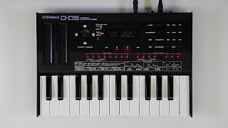 """""""Sequencer"""" Roland D-05 #03"""