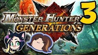 ►Monster Hunter Generations►HORNS O' PLENTY►With Egoraptor!► PART 3 - Kitty Kat Gaming