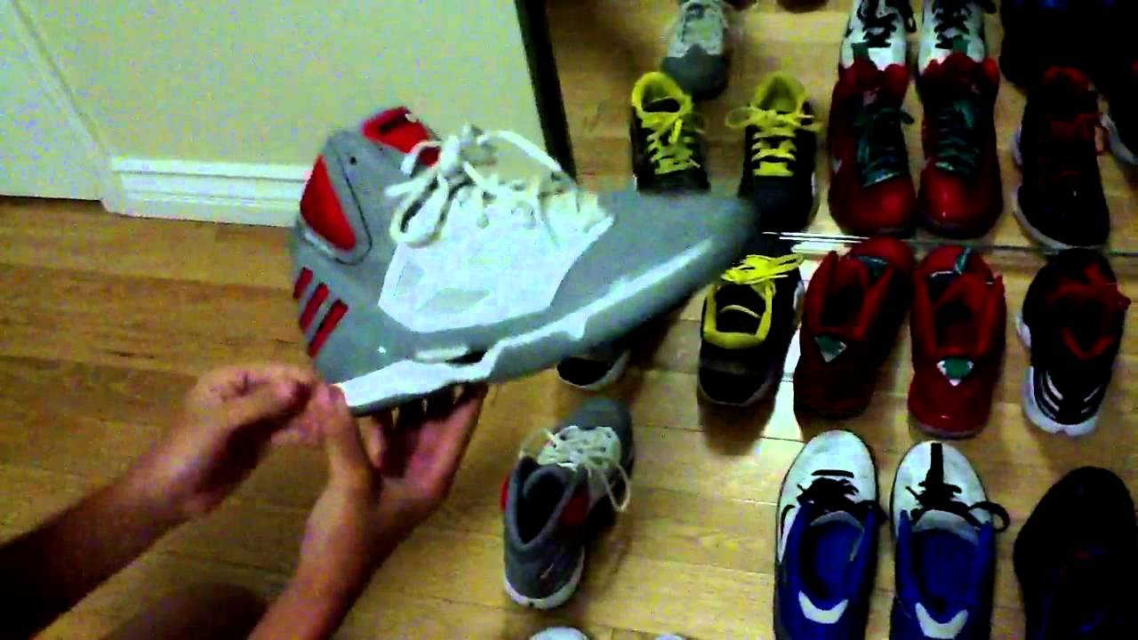 Basketball shoe collection - YouTube