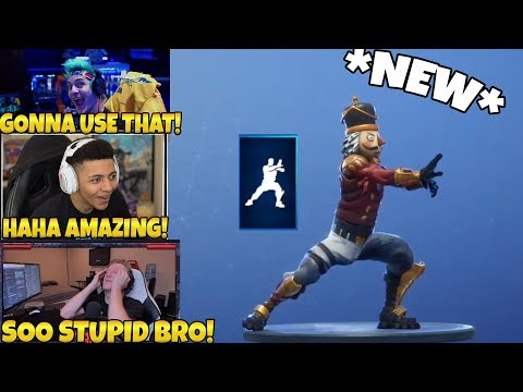 STREAMERS REACT TO THE *NEW* TAI CHI EMOTE IN FORTNITE