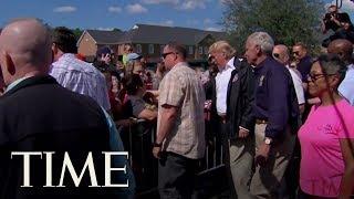President Trump Travels To Storm-Ravaged Carolinas To Survey Hurricane Florence Damage | TIME