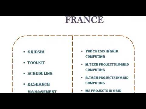 GRID COMPUTINGS PROJECTS CODE IN FRANCE