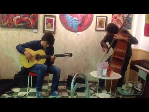 Beautiful Love, Flamenco Guitar, Doublebass
