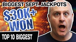 🔥 $30,000 + IN SLOT MACHINE JACKPOTS! 🎰 Top 10 Biggest September 2020 HIGH-LIMIT Handpays