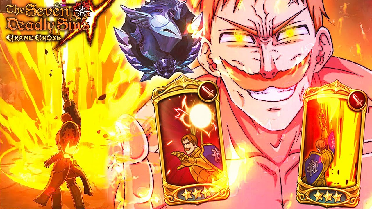 I LOVE THIS! MONO RED IS ABSOLUTELY BROKEN ON GLOBAL!! | Seven Deadly Sins: Grand Cross