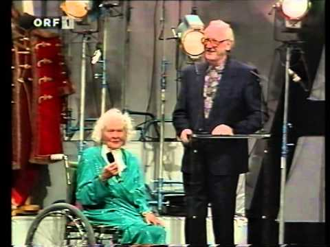Liane Haid -  bei der Rosenhügelgala 1992 in Wien