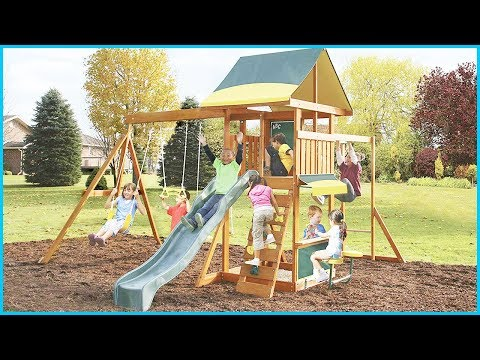 Top 5 Best Wooden Swing Sets In 2019 – Fun Outdoor Playsets For Kids