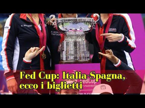 Fed Cup: Italia-Spagna, ecco i biglietti