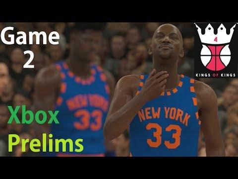 NBA 2K18 MyTeam KOK4 Tournament Prelims New York Knicks Group Play Game 2